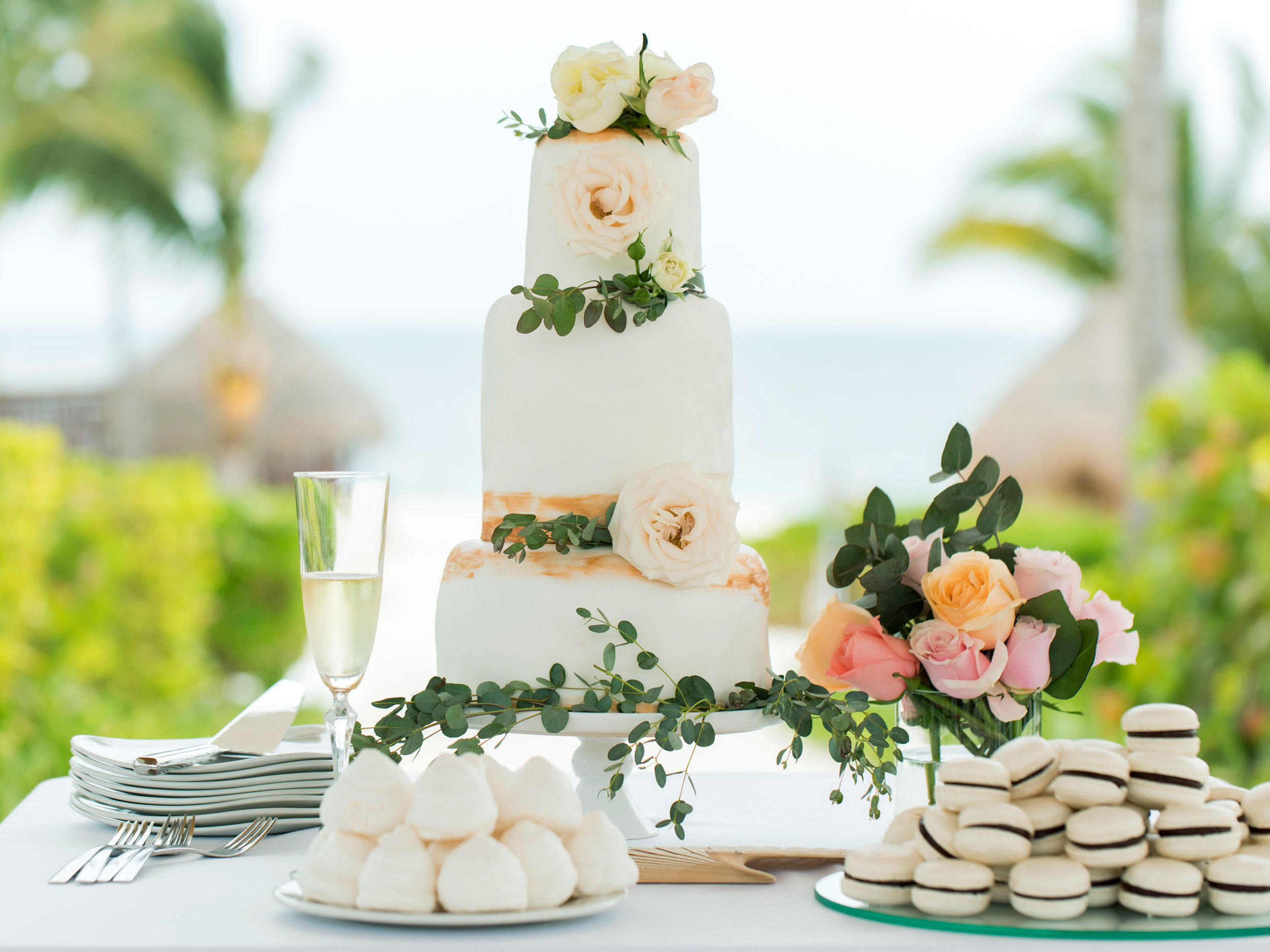 Beach Weddings at Resorts in Playa Mujeres