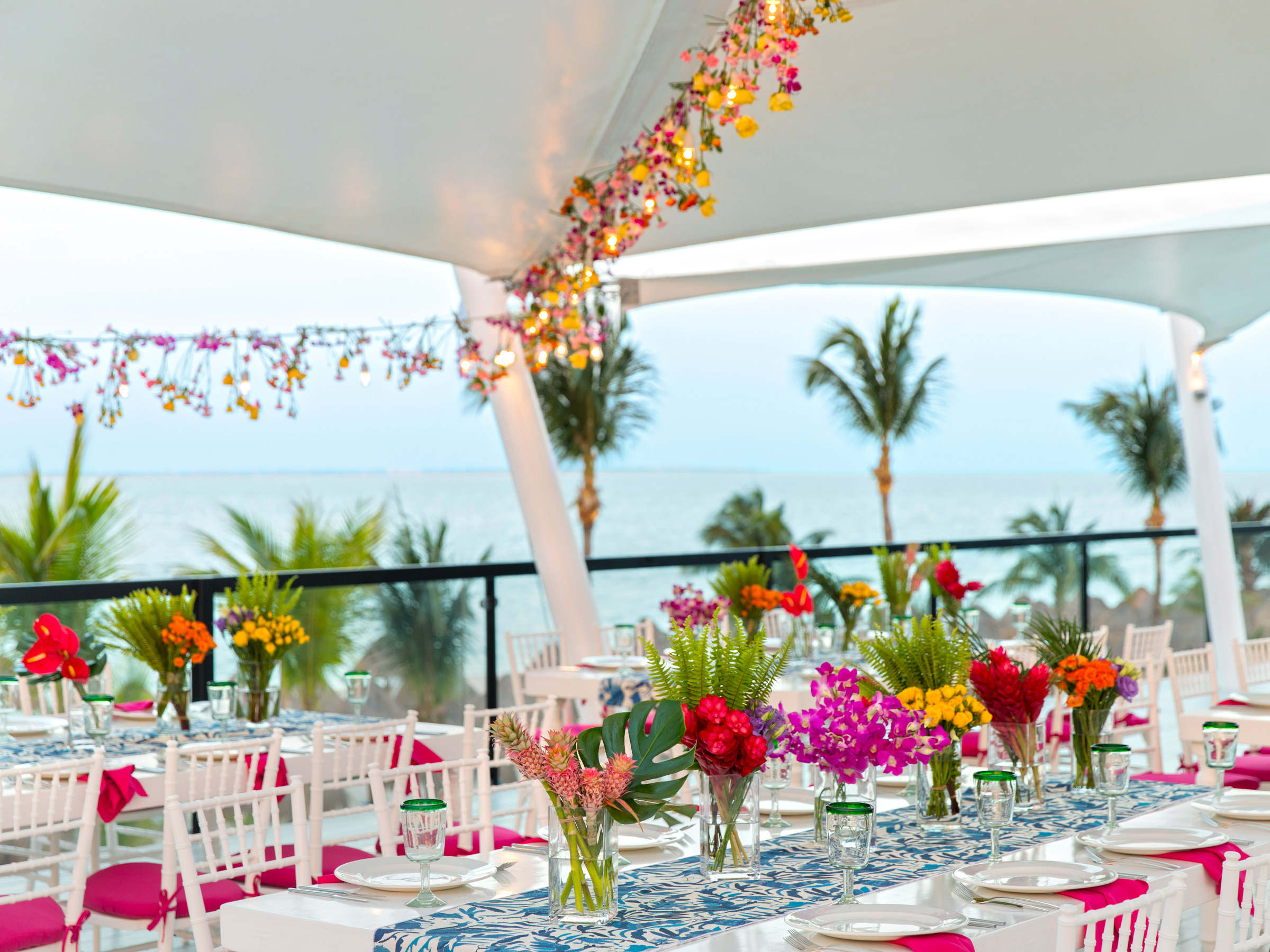 Rooftop Wedding with an Ocean View