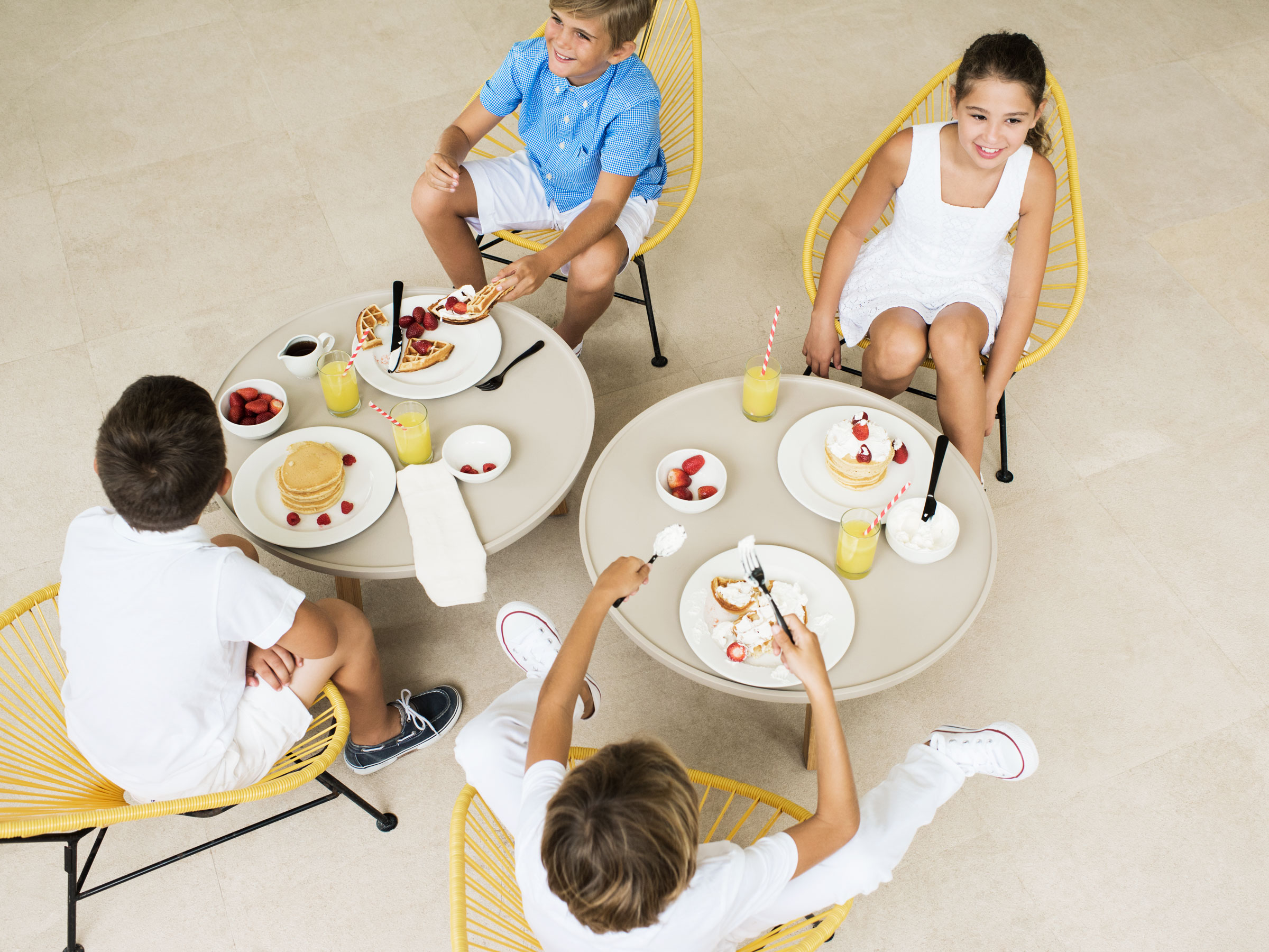 Meals for Kids at Our Cancun All Inclusive Family Resort