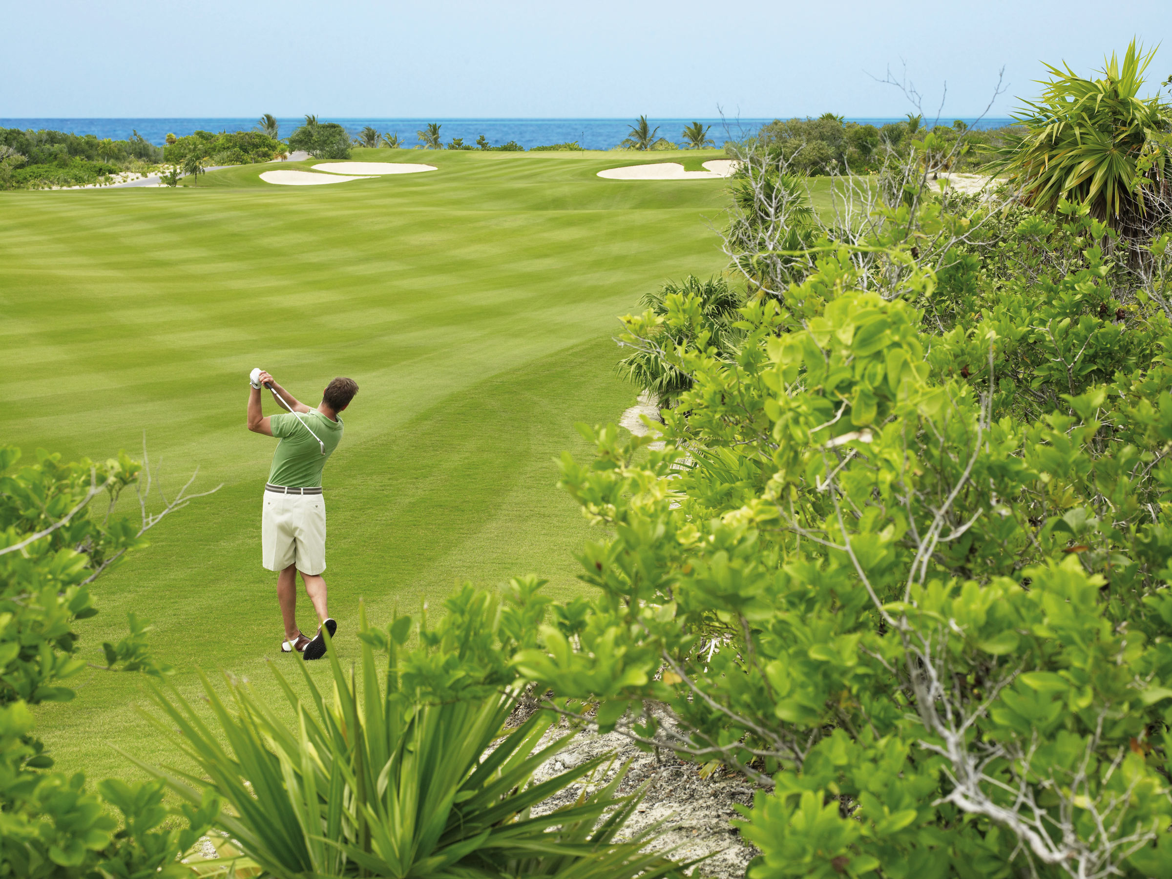 Lessons and Practice at our Cancun Golf Resort