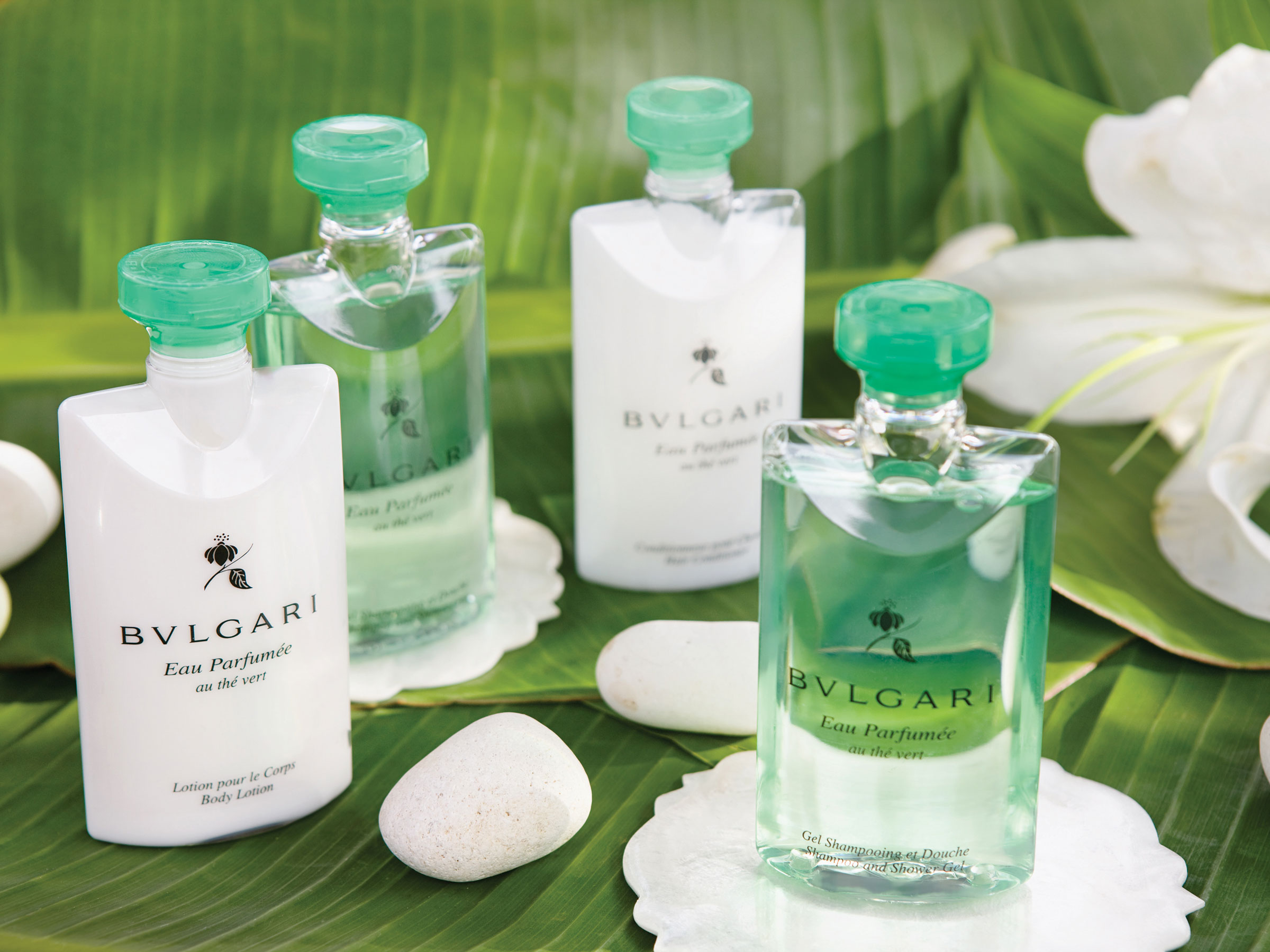 Bulgari Amenities at Our Adults Only All Inclusive Resort Category in the Caribbean