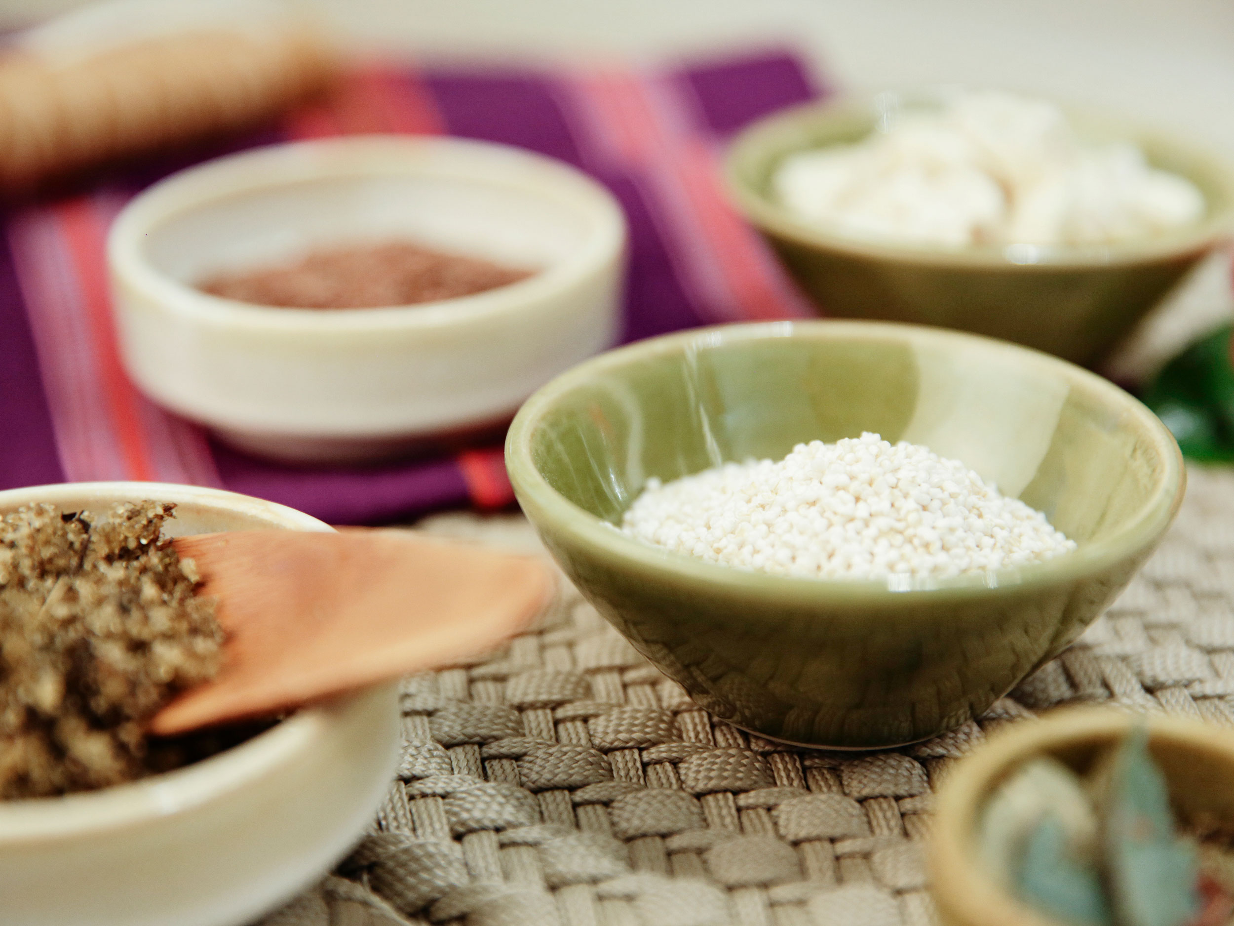 Rejuvenating Massage Treatment Ingredients at Our Cancun Spa Resort